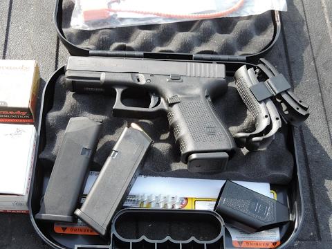 Glock 19 Gen 4 Unboxing & First Shots