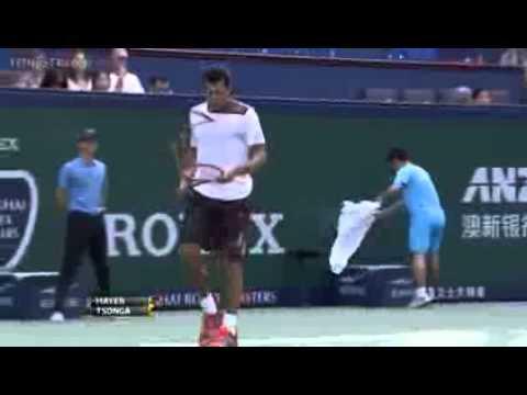 ATP Shanghai Rolex Masters 2013 ~ Quarterfinal Full Match   Highlights   Jo Wilfried Tsonga Vs Flori