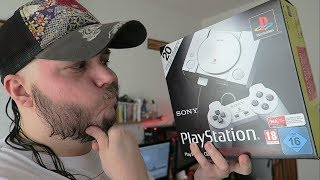 MI PROBLEMA CON PLAYSTATION CLASSIC MINI | UNBOXING REVIEW Y COMPARATIVA