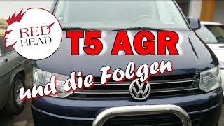 VW Bus T5 Ölverbrauch, AGR und Motorprobleme -3 auf einen Streich | Redhead
