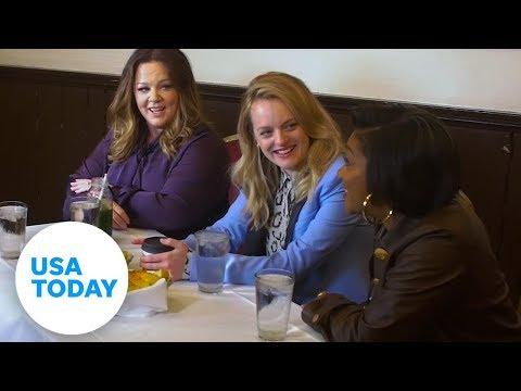 Melissa McCarthy, Tiffany Haddish and Elisabeth Moss 'The Kitchen' interview | USA TODAY