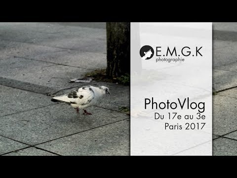 Balade photo à Paris - Salon de la Photo 2017