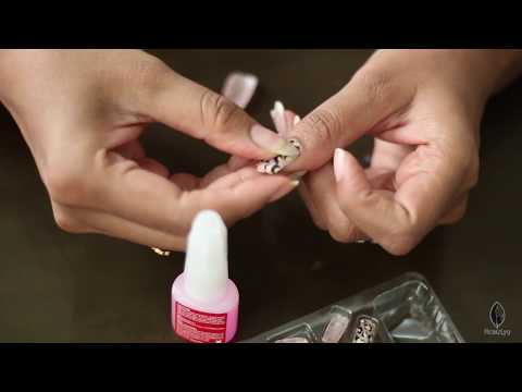 How to Apply Artificial Nails (Hindi)