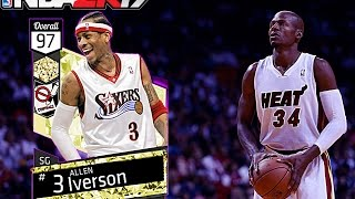 nba 2k17 my team free 2 amethyst gods allen iverson ray allen confirmed free cards by ronnie2k