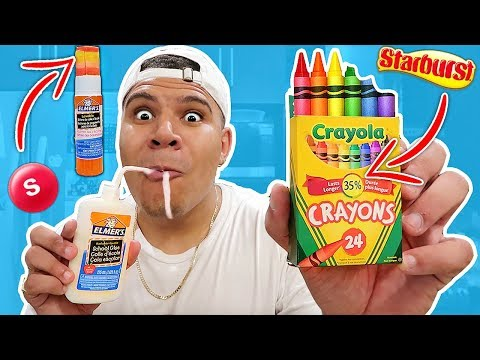 Thumbnail: DIY Edible School Supplies!! Back to School Pranks *YOU CAN EAT*