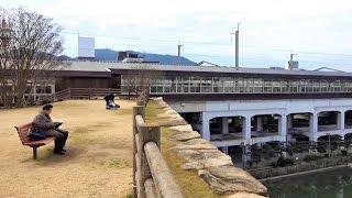 三原城跡公園 天守台が公園に、JR三原駅にも直結