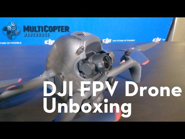 DJI FPV Drone Unboxing