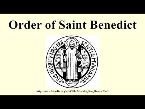 Order of Saint Benedict