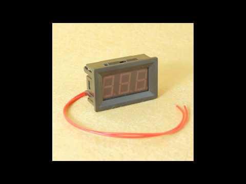 AC 70-500V Digital Voltmeter - Techtronics Lanka Tested.