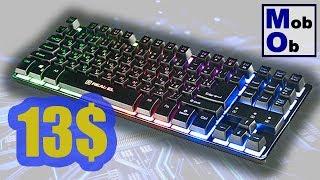 Real-El 8710 TKL Backlit // Игровая клавиатура с подстветкой!!!