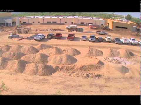 Emily Gray Junior High School: Construction Timelapse