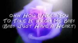 have a heart celine dion with lyrics