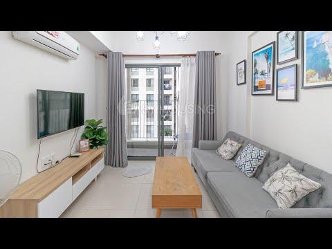 🍀Căn hộ Masteri Thảo Điền tầng cao - view hồ bơi🍀   Masteri Thao Dien for rent - apartment tour