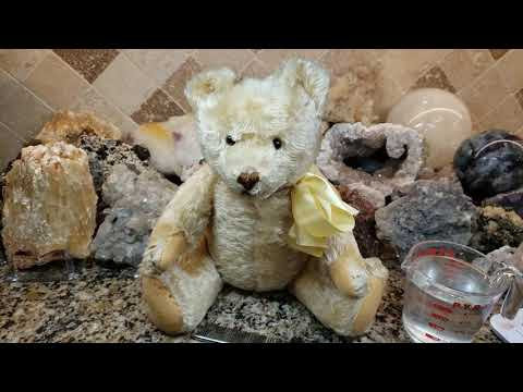 How To Clean An Antique Or Vintage Steiff Teddy Bear