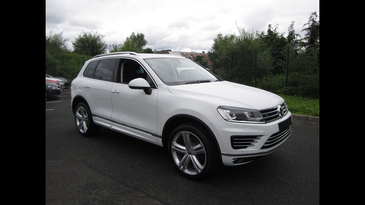 Review 2015 Volkswagen Touareg R Line Youtube