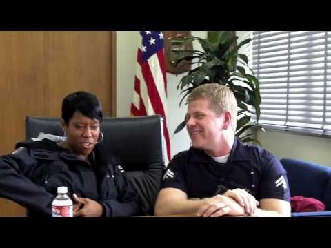 Southland Set Visit - Michael Cudlitz and Regina King Interview