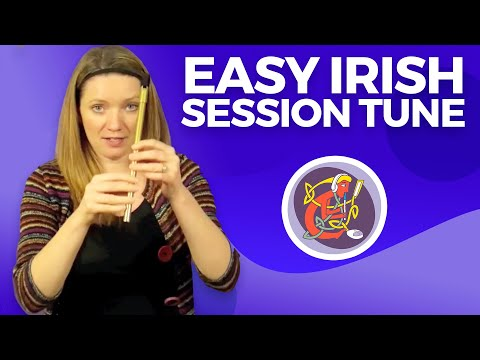 Beginner Tin Whistle Lessons: Learn the Kerry Polka +  6 Free tunes on WWW.OAIM.IE
