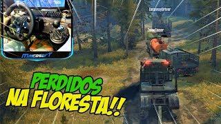 FICAMOS PERDIDOS INDO ATRÁS DA MADEIREIRA!! - SPINTIRES MUDRUNNER ONLINE #02