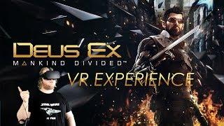 Deus Ex: Mankind Divided VR Experience - Der Hinter den Kulissen Spaziergeh-Simulator