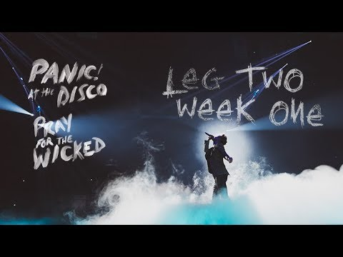 Panic! At The Disco - Pray For The Wicked Winter Tour (Week 1)