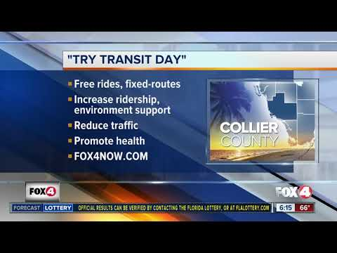 """""""Try Transit Day"""" kicking off in Collier County"""