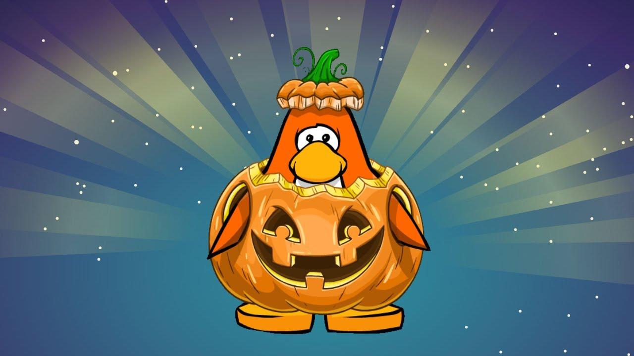 Club Penguin Rare Halloween Costume YouTube
