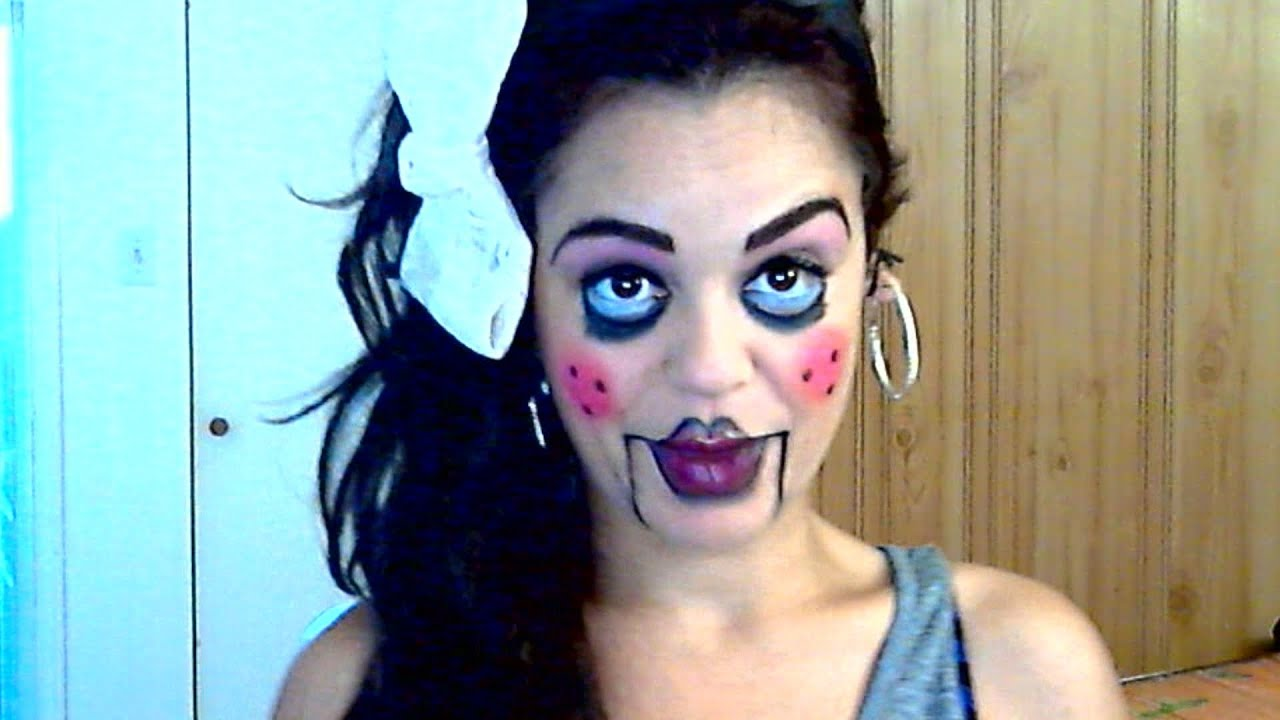 Easy dead creepy doll makeup tutorial new blog wallpapers easy dead creepy doll makeup tutorial baditri Image collections