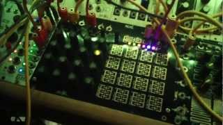 make noise rené non-linear sequential tuned voltage map in action