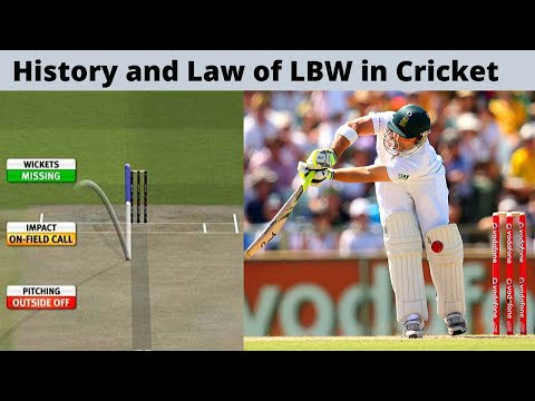 History And Law Of LBW In Cricket EXPLAINED