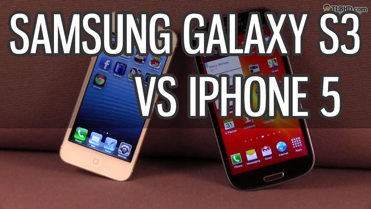 a comparison of samsung s3 and iphone 5 Samsung galaxy tab s3 vs ipad pro: samsung is taking the fight to  a proper comparison until we've fully  camera on the iphone 5 if samsung can.