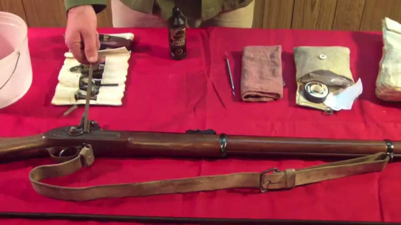 Care and Cleaning of the Enfield Family of Muzzleloading Rifles: Pt 1
