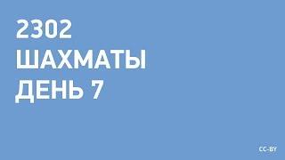 2302 - Шахматы - день 07