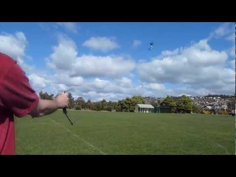 Flying  My First Revolution Kite