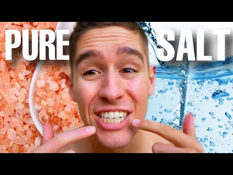 I Drank Nothing But SALT WATER For 30 Days...