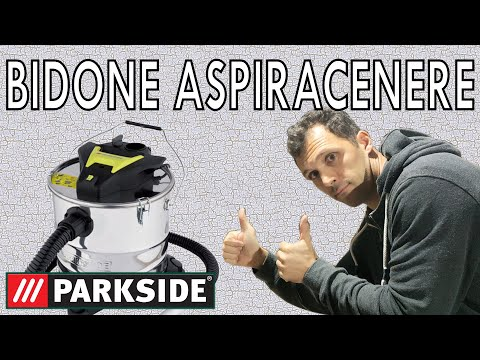 Recensione Bidone Aspiracenere PAS 1200 E4 PARKSIDE LIDL