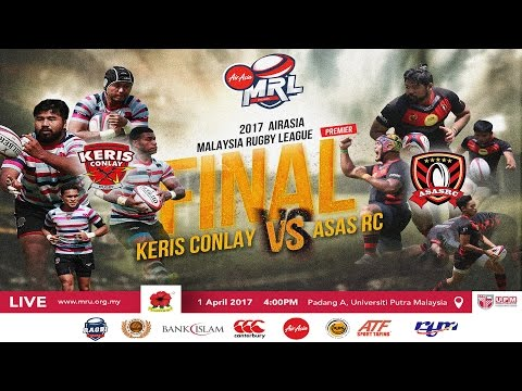 2017 AIRASIA MALAYSIA RUGBY LEAGUE - PREMIER  - PRIZE GIVING CEREMONY