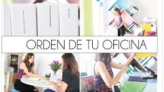 Trucos para ordenarar tu oficina y ser más eficaz y feliz