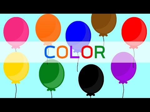 เรียนรู้สี ภาษาอังกฤษ learning color