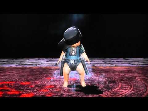 MK9 All Babalities (including Kratos, Kintaro, Goro And Shao Kahn)