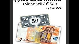 Size Does Matter MONOPOLY EURO - www.lepetitmagicien.com