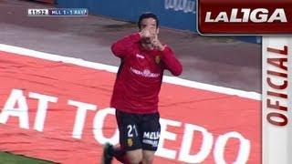 Gol de Alejandro Alfaro (1-1) en el RCD Mallorca - Rayo Vallecano - HD