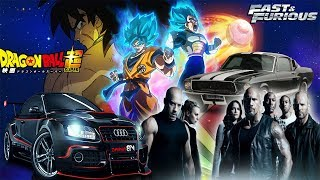 EMINEM -The End Of The Line  NEW REMIX Fast & Furious AND Dragon Ball Super The Movie BROLY 2018