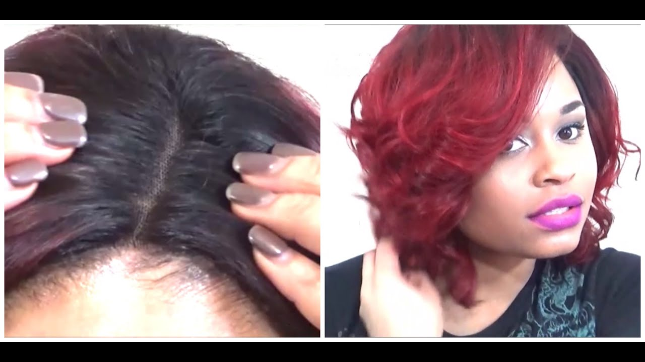 DIY: Sew-in W/ Lace Closure: Part 3 Of 4 RED HAIR