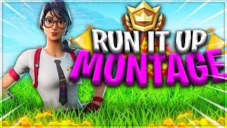 "Fortnite Montage - ""Run it Up"" (USE CODE HELIX-KARISMA IN ITEM SHOP)"