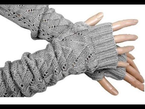 Схема вязания пальцев перчатки