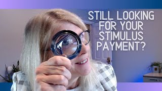Missing Stimulus $???  What can you do?