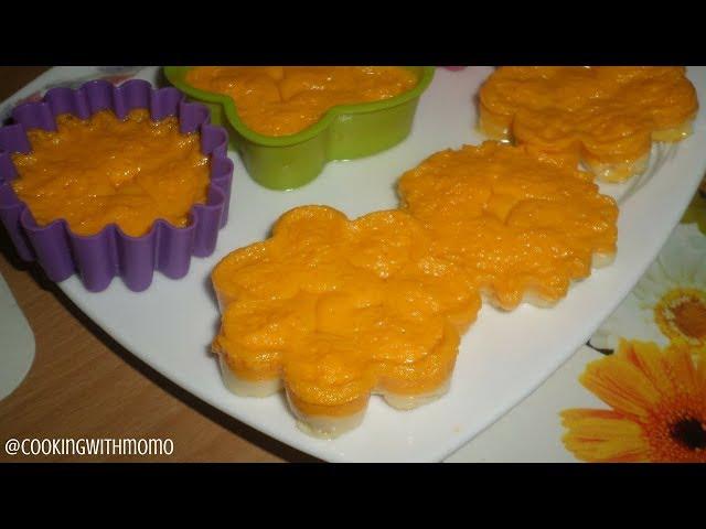 চুলায় তৈরি - টু লেয়ার কাপপুডিং | 2 Layer Egg Pudding | Layered Pudding | পুডিং | Pudding | Dessert