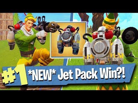 *NEW* Jetpack Victory?! (Update) - Fortnite Battle Royale