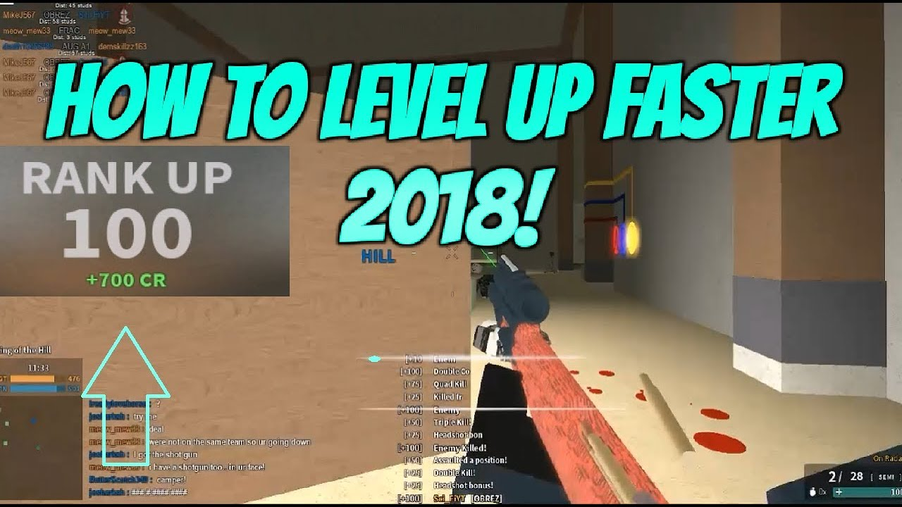 Roblox Phantom Forces How To Level Up Faster Effective Way To