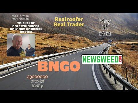 BNGO Bionano Genomics - May 18, 2021
